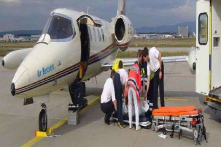 Air ambulance services in indore
