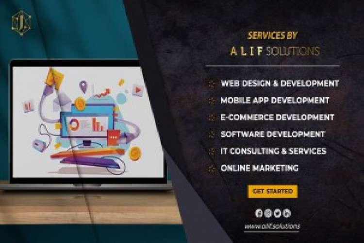 Alif solutions   web development company
