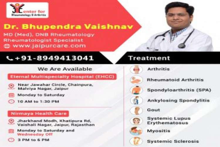 Arthritis specialist doctor in jaipur to treats arthritis