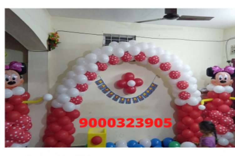 Balloon decorations in vizag