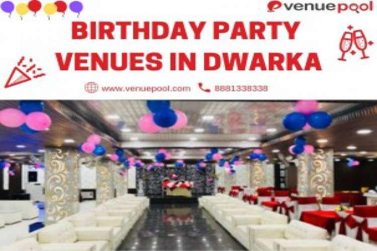 Banquet halls for birthday party in dwarka