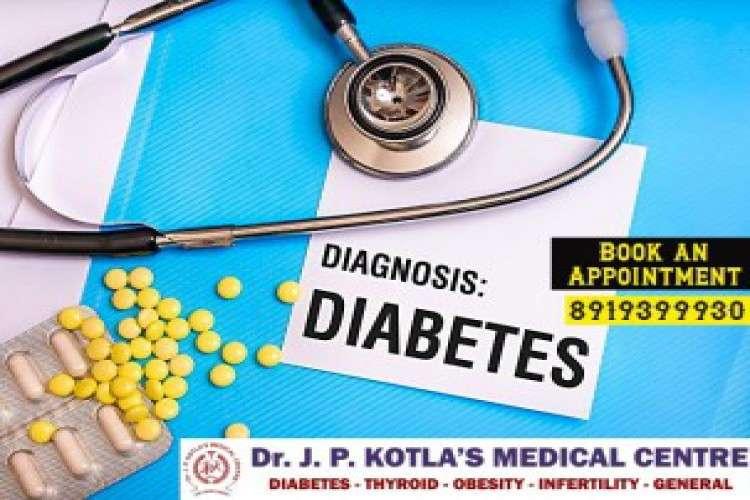 Best diabetologist in himayat nagar dr jp kotla medical centre