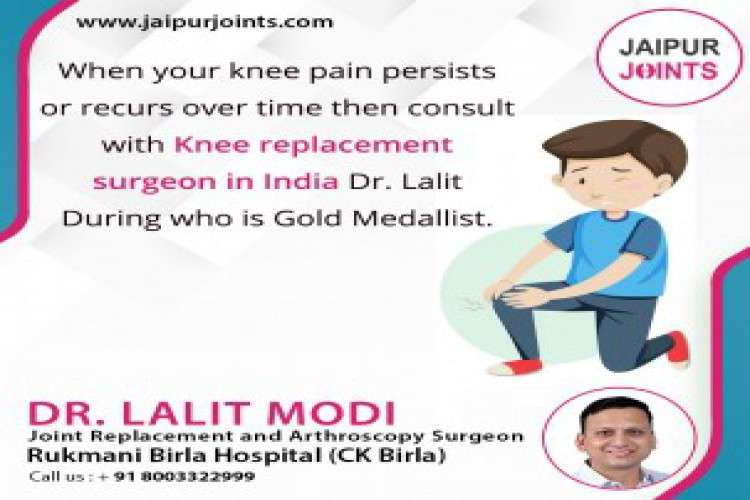 Best knee replacement surgeon in jaipur for knee surgery