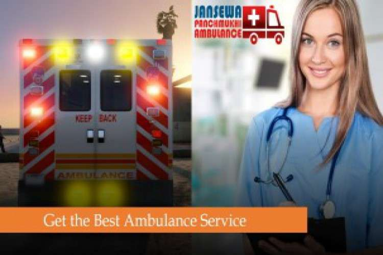 Book ambulance service in jamshedpur with suitable care