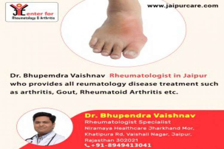 Book an appointment with rheumatologist in jaipur for arthritis