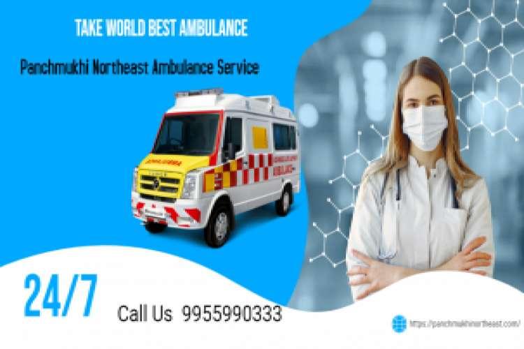 Book secure road ambulance service in barpeta road