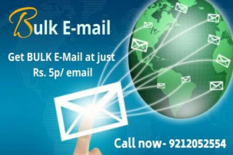 Bulk email service provider in delhi bulk email marketing
