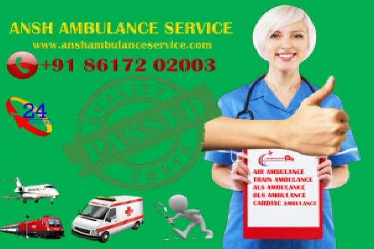 Choose india most loyal train ambulance service in patna
