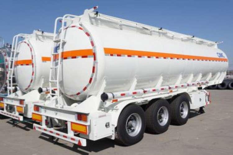 Cimc fuel tanker trailer