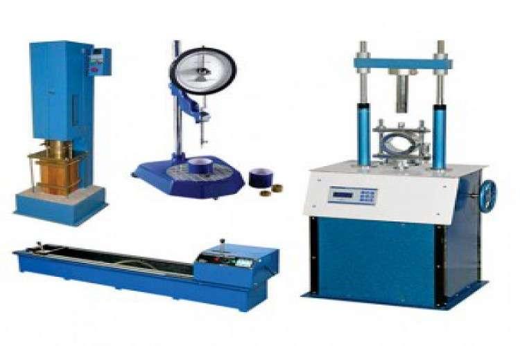Civil engineering lab equipments manufacturers india
