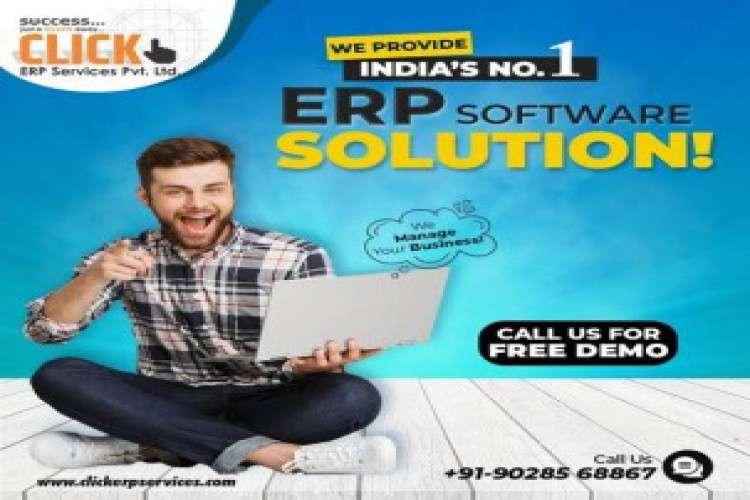 Click erp services pvt ltd is a best erp software solutions