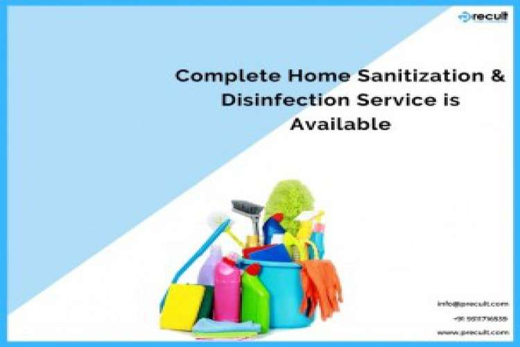 Complete home sanitization and disinfection service is available