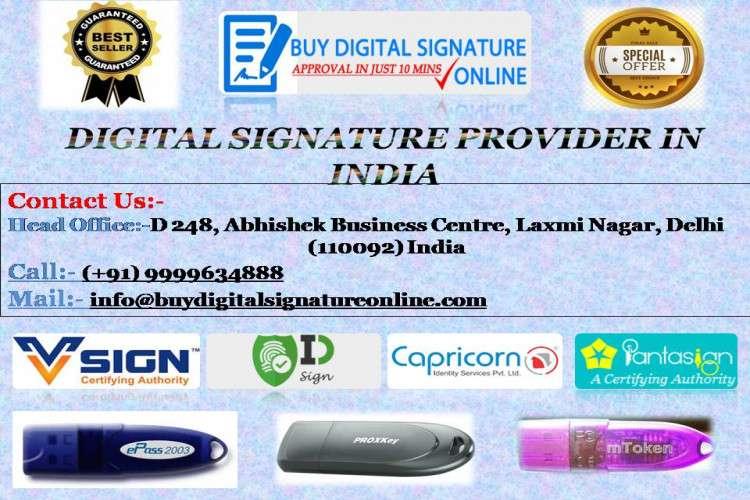 Dgft digital signature services