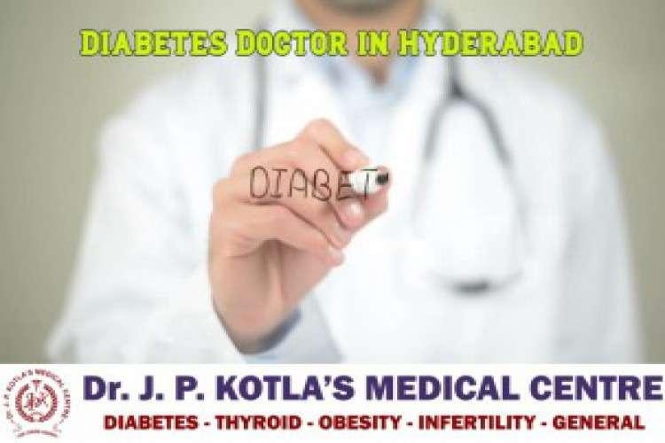 Diabetes doctor in himayat nagar dr jp kotla medical centre