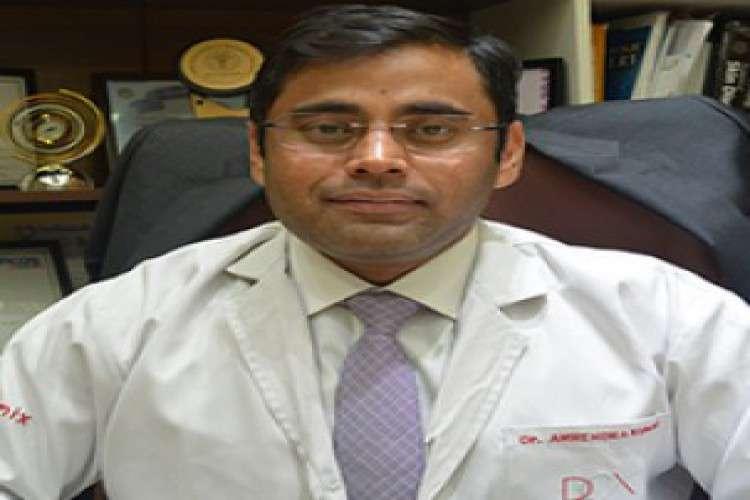 Dr amrendra kumar   dermatologist and hair transplant surgeon