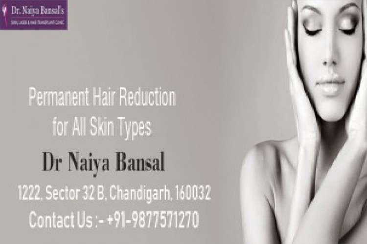 Dr naiya bansal laser hair removal clinic chandigarh