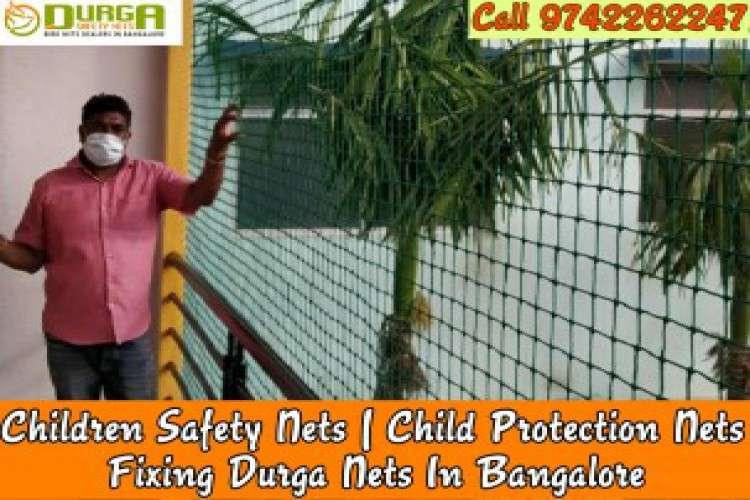 Durga children safety nets intsllation bangalore