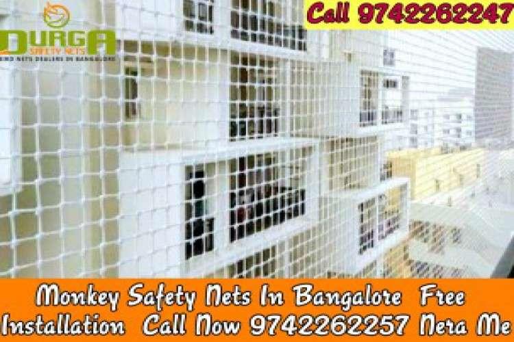 Durga monkey safety nets in bangalore