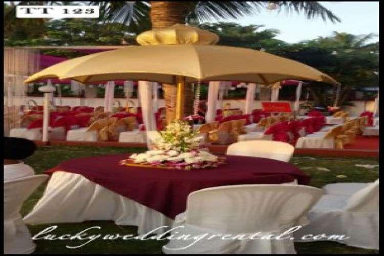 Event equipment rental wedding party rentals