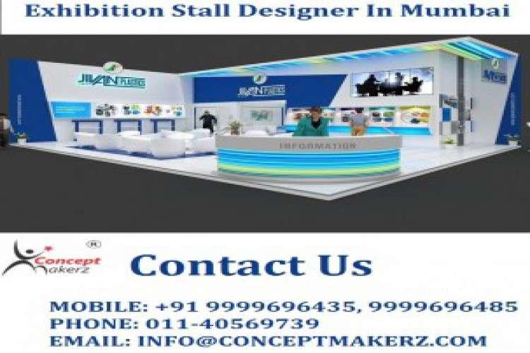 Exhibition stall designer in mumbai   get energetic stall designs