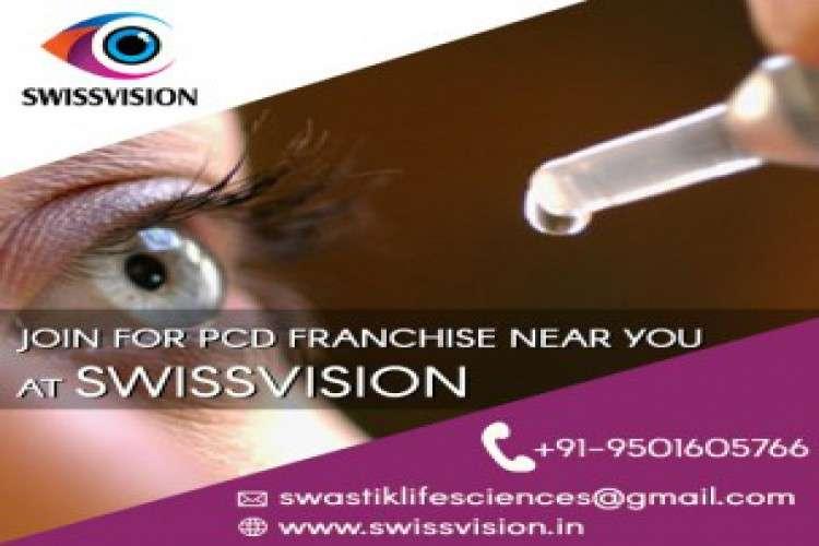 Eye drops franchise company   swissvision