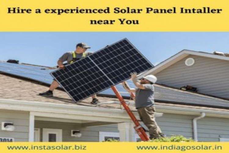 Find solar panel installer near you at best price