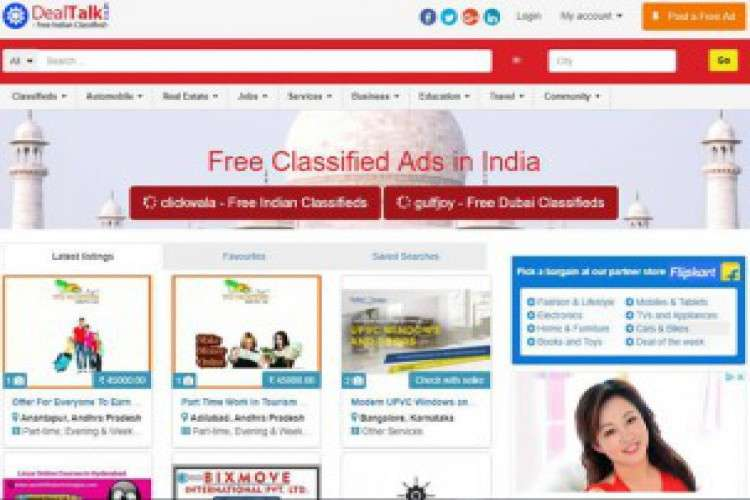 Free marketing in india and all its states