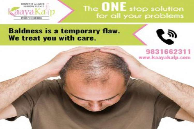 Get best solution for your thinning hair at kaayakalp