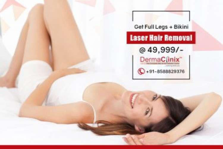 Get full legs hair reduction and bikini hair reduction