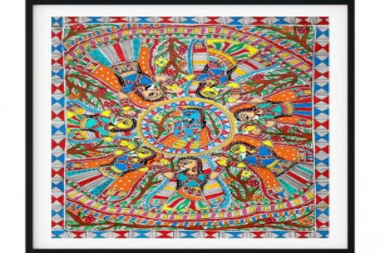 Get genuine madhubani painting