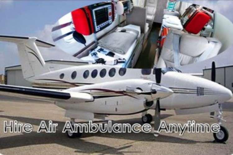 Get the healing air ambulance from kolkata round the clock