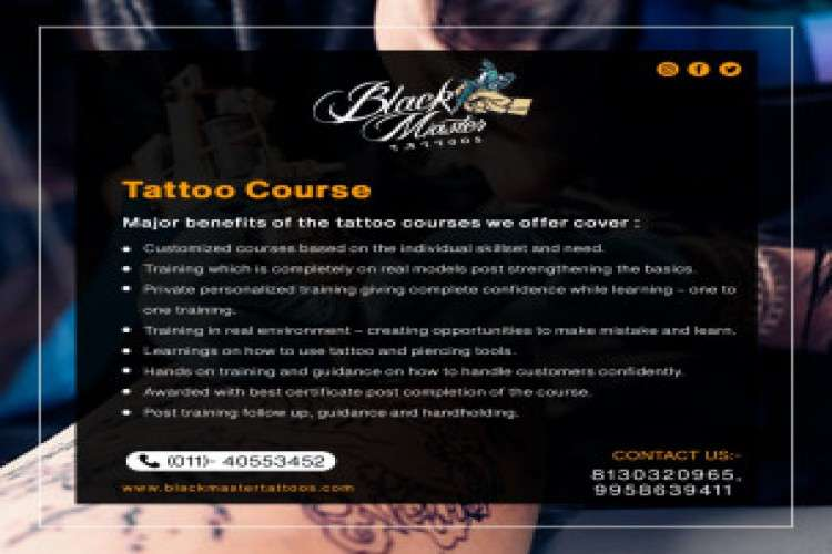 Grab the opportunity to learn tattooing skills
