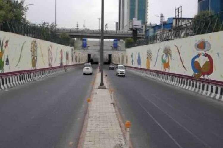 Graffiti wall art murals painting in delhi ncr