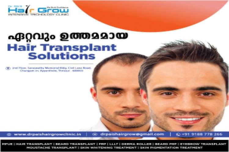 Hair growth treatment in kerala
