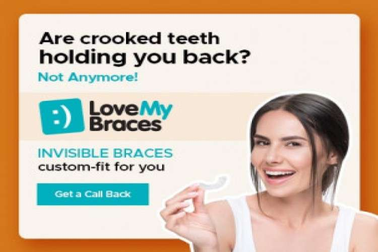 Invisible braces and clear invisalign teeth aligners by lovemybraces