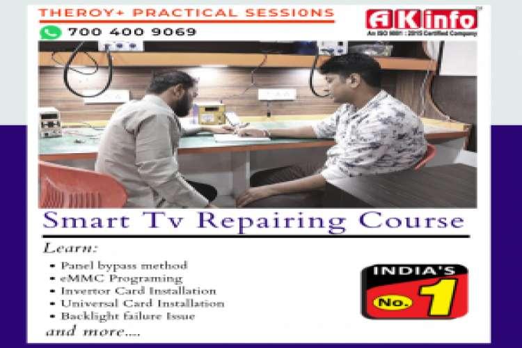 Led tv repairing course in wazirabad north delhi