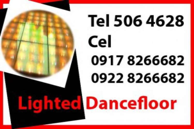 Lighted dance floor rent hire manila philippines