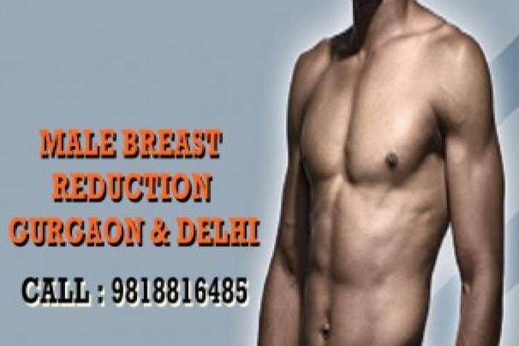 Male breast reduction surgery in gurgoan