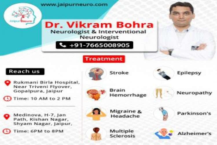 Neurologist in jaipur treats neurological disorder