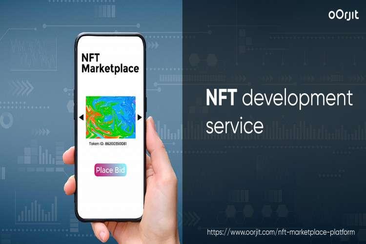 Nft marketplace development company  oorjit nft marketplace