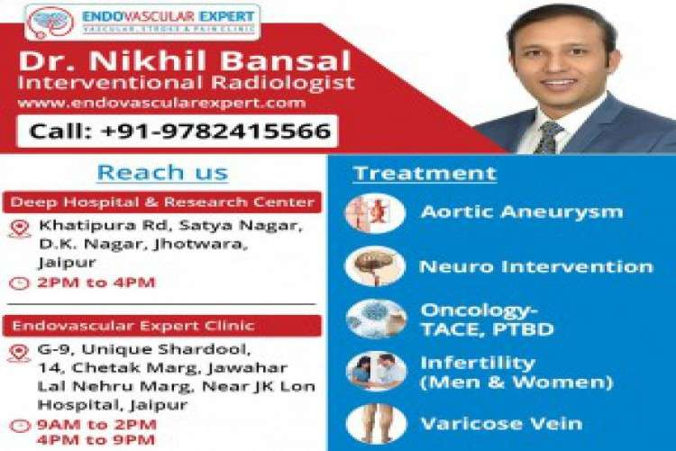 Non invasive treatment provided by varicose vein doctor in jaipur