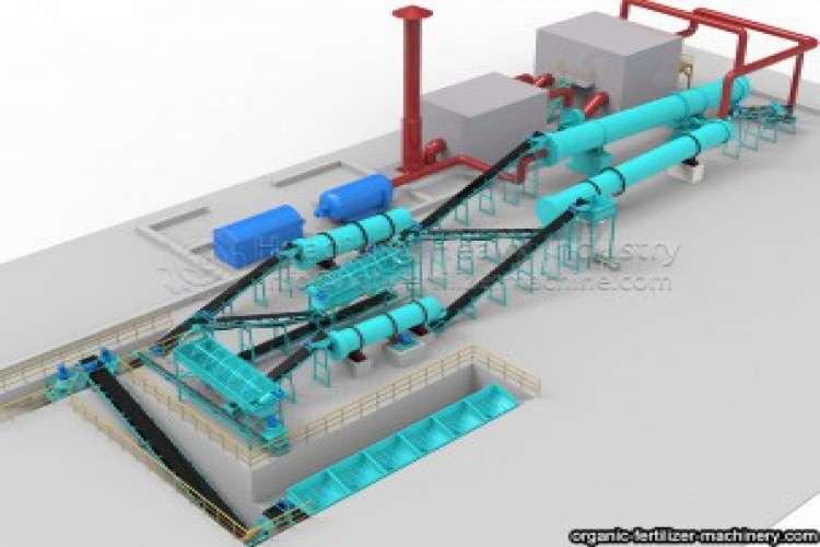 Npk fertilizer granular production line