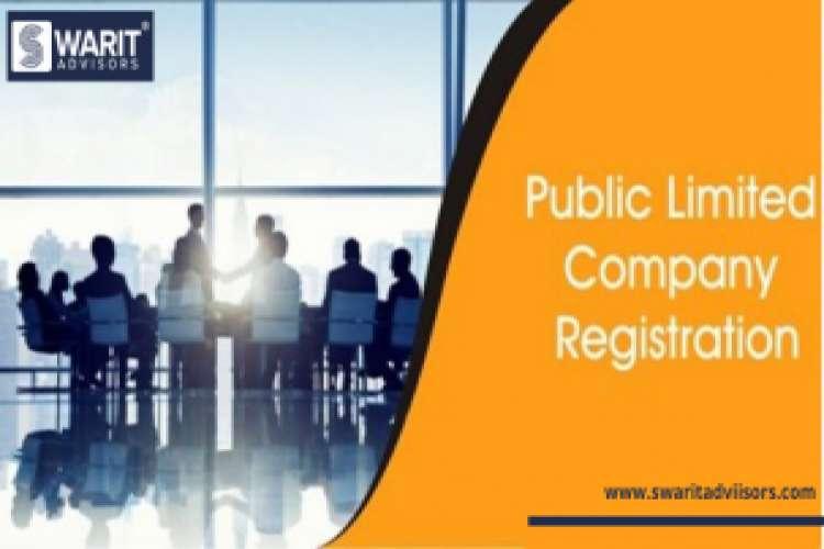 Online public limited company registration