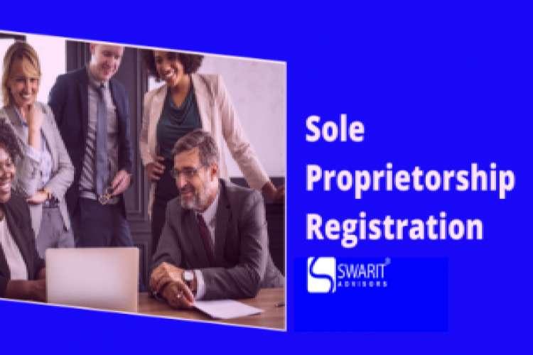 Online sole proprietorship registration in india