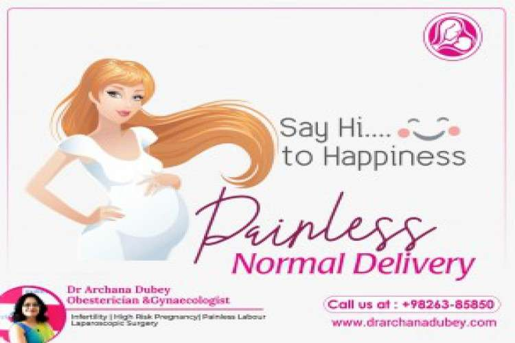 Painless normal delivery   dr archana dubey