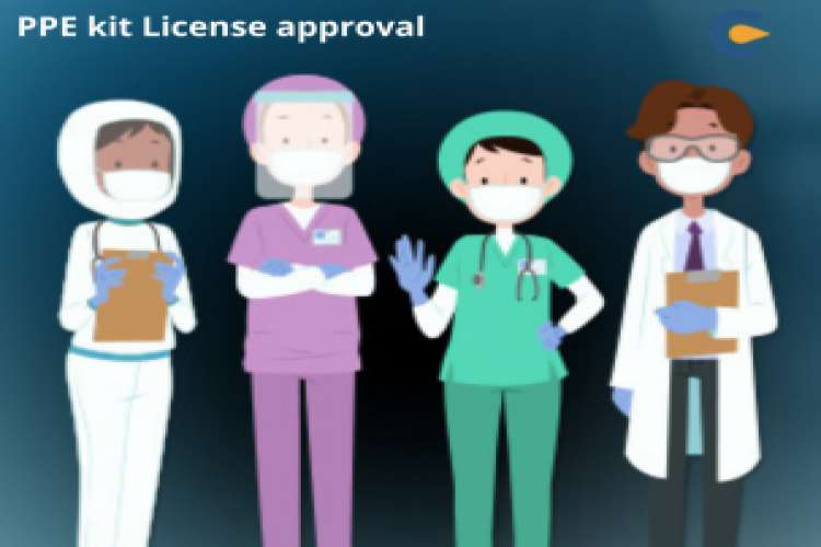 Ppe kit license approval in india   corpbiz