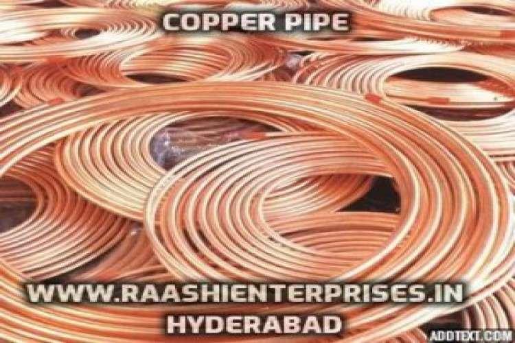 Raashi enterprises   ac copper pipe in hyderabad