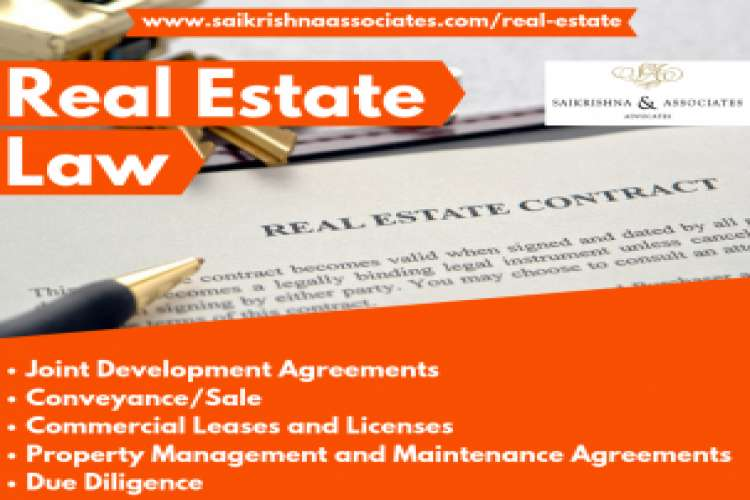 Real estate law firm in india   sai krishna and associates