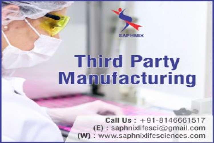 Saphnix lifesciences  third party manufacturing company