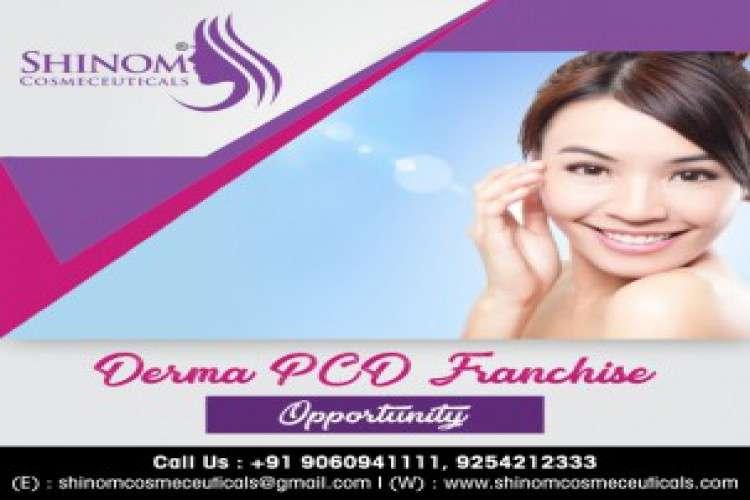 Shinom cosmeceuticals  derma franchise company